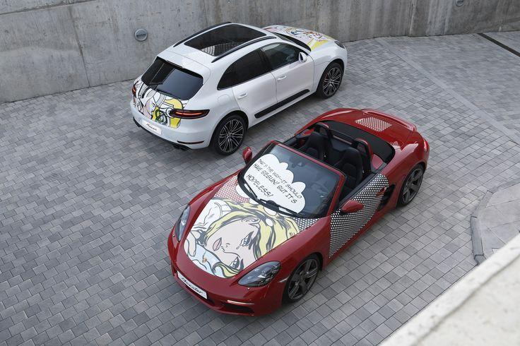 Caravana Pop Art. Roy Lichtenstein by Porsche.