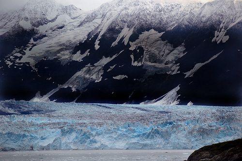 Hubbard Glacier - Alaska. Alaska Fishing Trips – Once-In-A-Lifetime Wildlife Adventures: http://www.thewondermap.com/alaska-fishing-trips/
