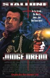 Judge Dredd movie poster [Sylvester Stallone] video poster/NM Only $11.99