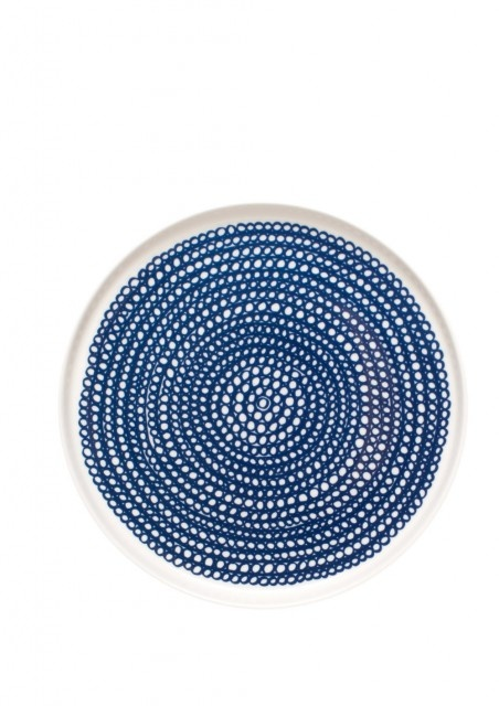 marimekko: Kitchens, Dinners Plates, White Plates, Marimekko Siirtolapuutarha, Ceramics, Siirtolapuutarha Plates, Siirtolapuutarha Blue, Marimekko Plates, Blue And White