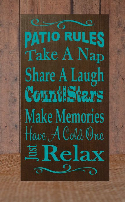 Patio Count the Stars Sign by ElsiDesign on Etsy