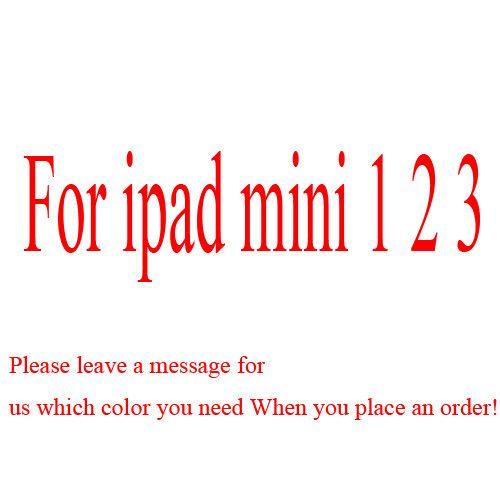 Smart cover case for ipad mini 2 3 Retina Case original flip leather cases For iPad mini 4 2 3 flip cover for ipad 2 3 4