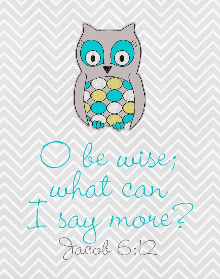 AWESOME site with lots of cute, free LDS quotes: Owl Freebie, Lds Prints, Freebie Jacob, Church, Young Women, Pockets, Free Printable, Pocket Full