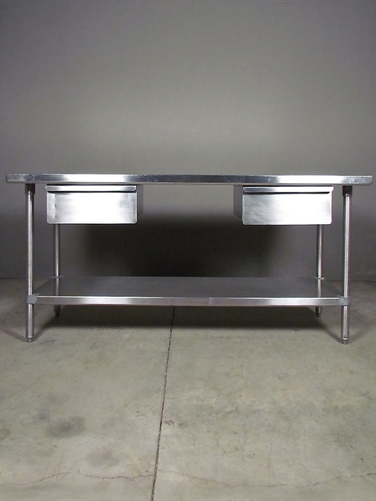 Stainless Steel Table | Redinfred Sleek, Industrially Designed + Highly  Functional With An Extremely Durable