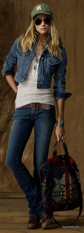 Ralph Lauren Denim & Supply Stretch Slim Bootcut Jean | BuyerSelect.com