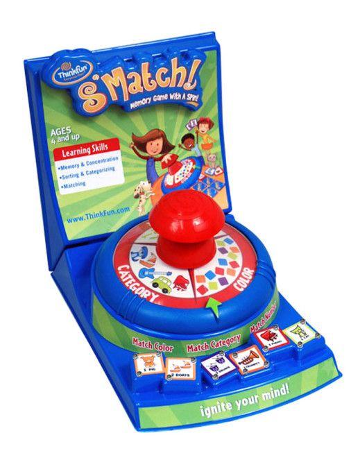 S'Match Memory Game Display