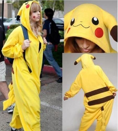 Pijama Picachu. Pokémon Original y práctico pijama<b>unisex</b> del personaje de Picachu del video juego y serie Pokémon.