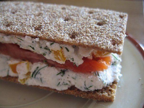 Диетический полезный бутерброд / Западло