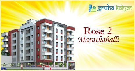 GruhaKalyan ROSE 2 at Marathahalli 1BHK, 2BHK & 3BHK Flats/Apartments Available Price Starts from 9.8Lakhs Onwards.