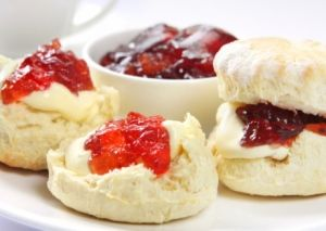 TV chef James Martin's homemade scone recipe. #Food #Scones #British #Yum