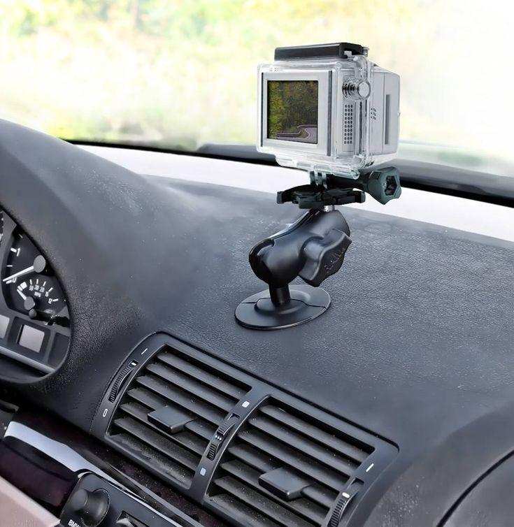 Ram Mount Gopro Zelfklevende Dashboard Mount Camera