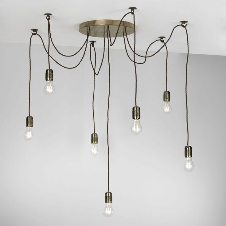 Huckleberry 7 Light Cluster Pendant Bronze