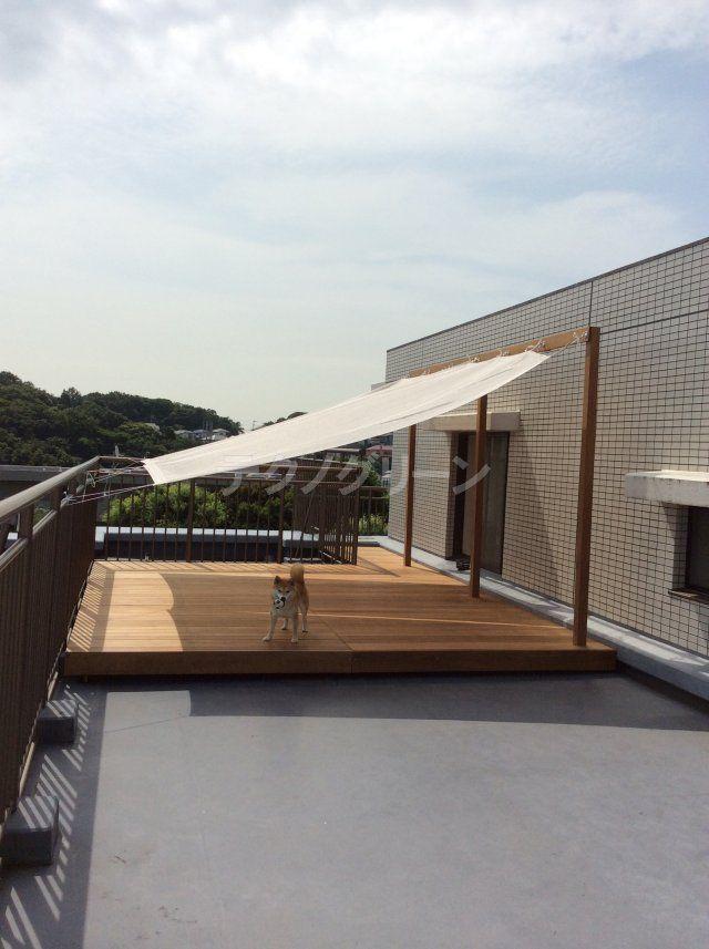 マンションのベランダやルーフバルコニー、専用庭への施工イメージをご紹介します