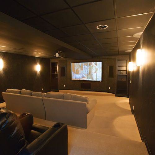 Theater Room Ideas Ideas, Pictures, Remodel and Decor
