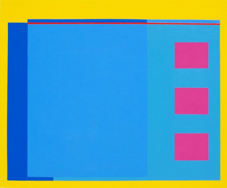 """Lido"" ~ 120cm x 100cm ~ acrylic on canvas"