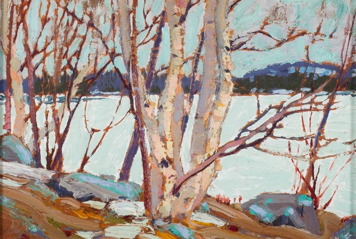 Tom Thomson Catalogue Raisonné | Ice Covered Lake, Spring 1917 (1917.10) | Catalogue entry