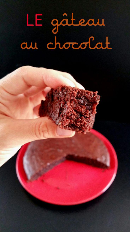 le gâteau au chocolat vegan, rapide et inratable !
