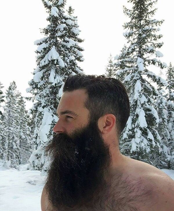 Nils...gotta be a Polar Bear winter warrior at heart...