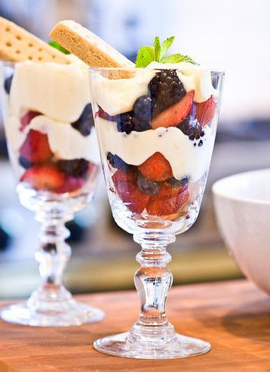 Lemon Berry Parfaits