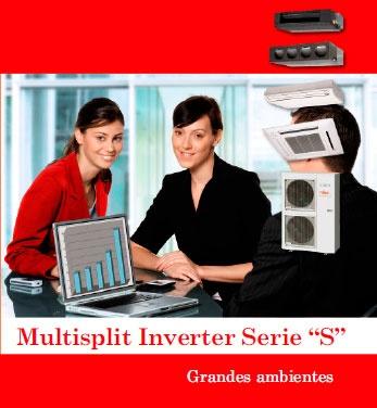 Fujitsu Aires Acondicionados Multisplit Inverter Serie S