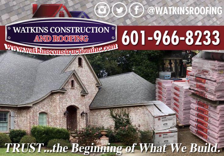 """""""TRUST, The Beginning Of What We Build""""  https://watkinsconstructioninc.com/request-roof-estimate/ #watkinsroofing #ocplatinum #roof #roofer #roofing #teamwork #watkinsway"""