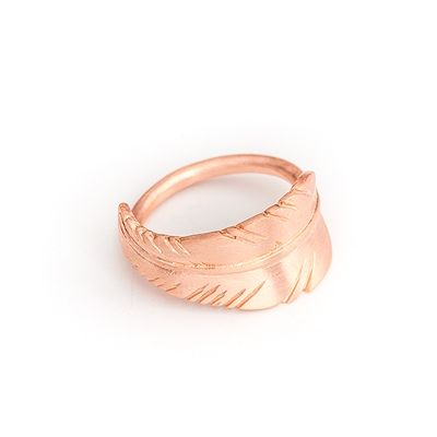 Jane Koenig leaf ring