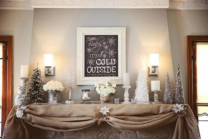 Recreate this look with a custom chalkboard that you can change with the season: http://www.pictureframes.com/framing-projects/personal-frame-shop