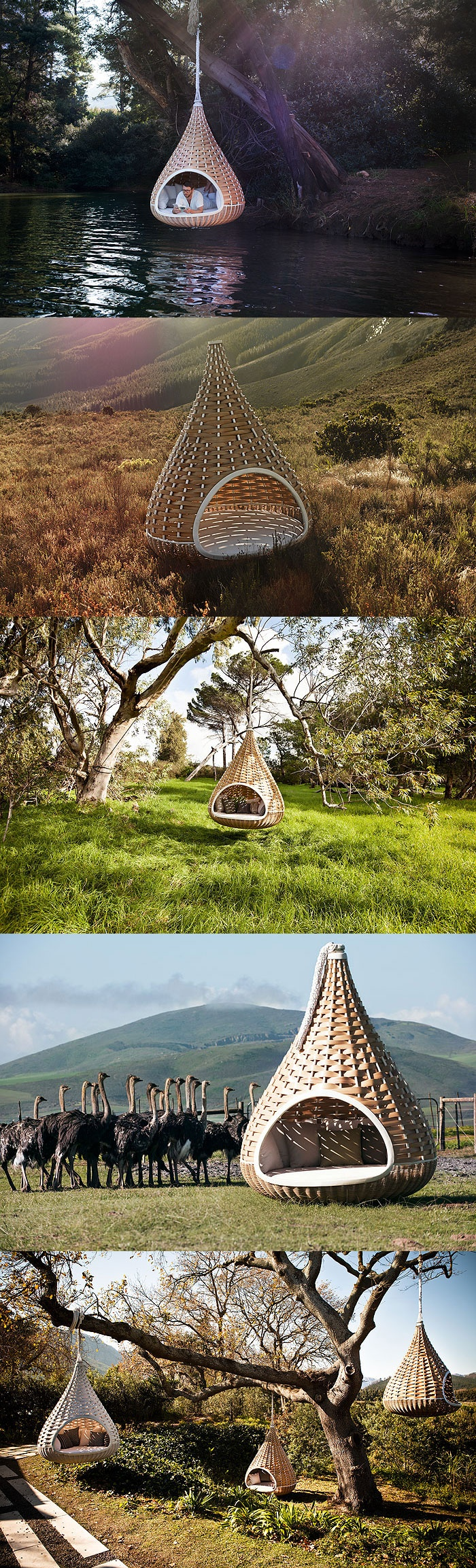 """#ArtivDesignCenter DEDON - Designed by Daniel Puzet and Fred Frety, """"Nest Rest"""" is made entirely from recyclable, non-toxic, weatherproof materials. https://www.facebook.com/pages/Artiv-Design-Center/120027678056383"""