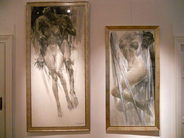 Bogusz Salwinski, Sacra humanum - desen, sculptura @ Galeria Autorska Jana Siuty (10)