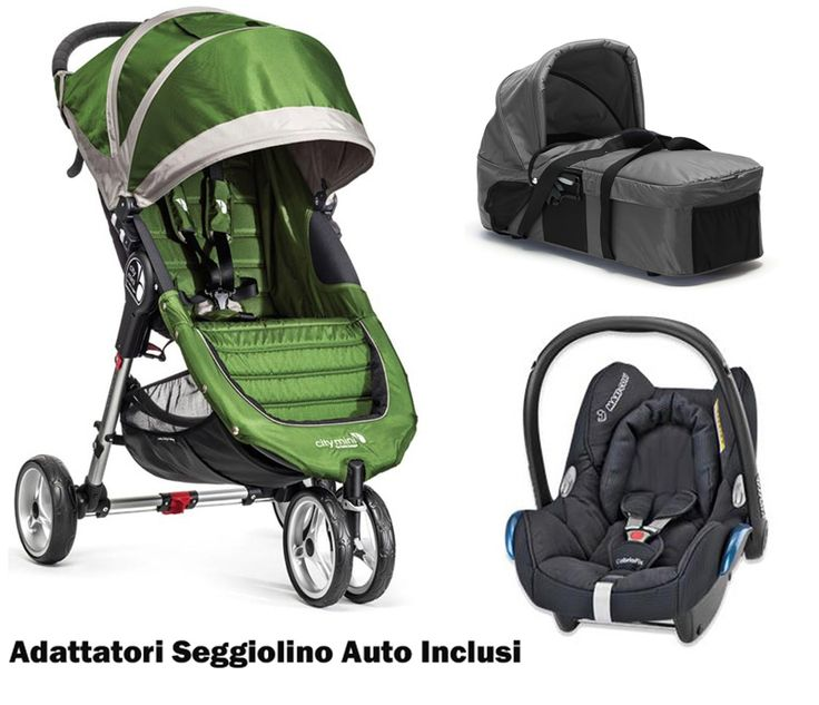 Trio Baby Jogger City Mini 3 http://www.lachiocciolababy.it/bambino/trio_baby_jogger_city_mini_3-7296.htm