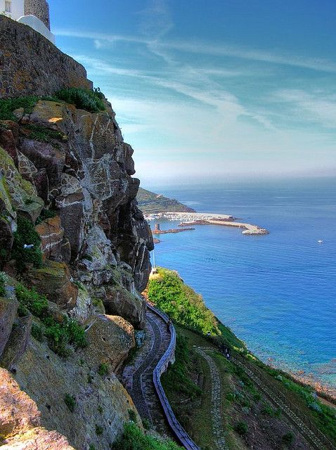 Castelsardo - View from the top - Sardinia, Italy #travel #awesome #places +++Visit http://www.hot-lyts.com/ to see more great images