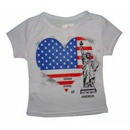 amerikaanse vlag t-shirt
