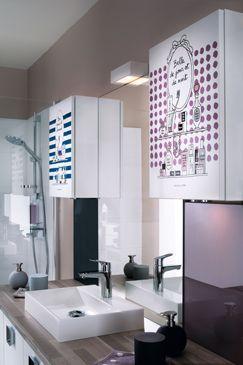 Salle de Bains Como blanc griffé | Mobalpa Cuisine et salle de bain | Mobalpa