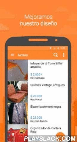 Yapo.cl  Android App - playslack.com ,  ¡Hola! Somos yapo.cl donde se venden más de 6.000 productos como el tuyo cada día.Conoce nuestra app Android, publica gratis tus avisos y logra hacer un excelente negocio.- Encuentra todo lo que estás buscando entre más de 1 millón de avisos de inmobiliaria, autos, motos, empleos, hogar, electrónica y mucho más.- Nuevo diseño, más amigable y moderno.- Busca avisos en tu ciudad, más cerca de ti.- ¡No te pierdas! Los avisos ahora con mapa de ubicación…