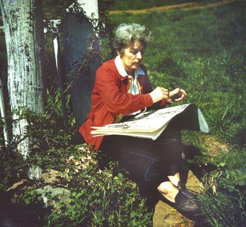 Mary O. Johnson painting