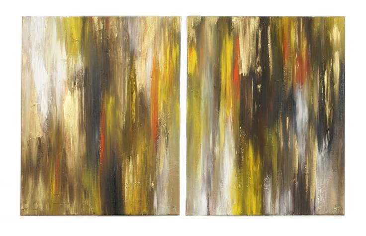 Golden Eyes, 16x20, Acrylic on Canvas, 2010