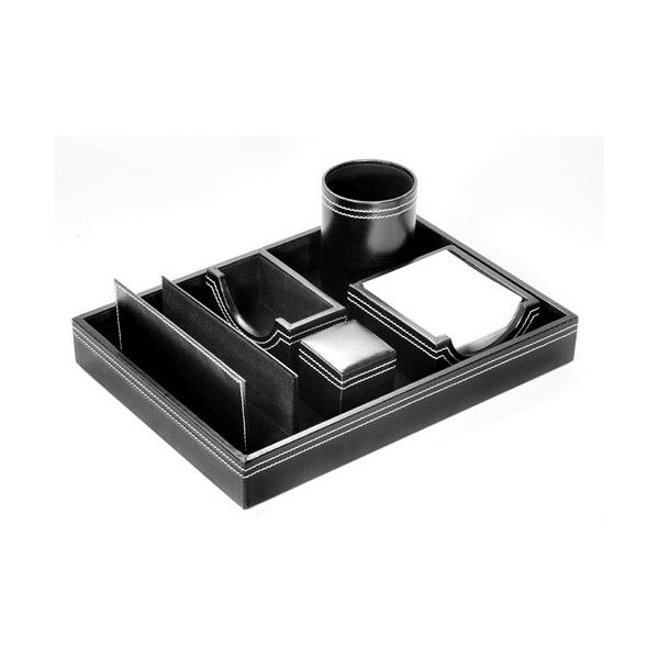 6 In 1 Executive Leather Table Top 601 Promotional leather table tops. #tabletops #logotabletops