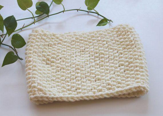 Cowl Neck Warmer soft and warm Neck-warmer snood by TisseTriko