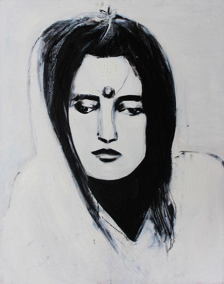 Sri Anandamayi MaBuy Paintings atwww.bluethumb.com.au/alexcarletti