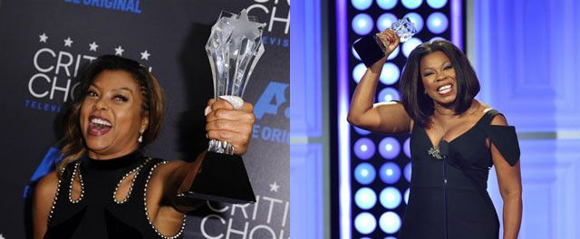 Taraji P. Henson, Lorraine Toussaint Take Top Prizes At Critics' Choice TV Awards- http://getmybuzzup.com/wp-content/uploads/2015/06/468040-thumb.jpg- http://getmybuzzup.com/taraji-p-henson-lorraine-toussaint-take-top-prizes-at-critics-choice-tv-awards/- By Annika Harris And the winners are … Taraji P. Henson and Lorraine Toussaint! On Sunday, the best in television were honored during the 2015 Critics' Choice TV Awards. Henson took home the prize for Best Lead Actr