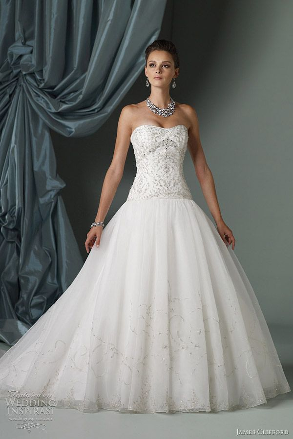 James Clifford Wedding Dresses Spring 2012 Bridal Collection