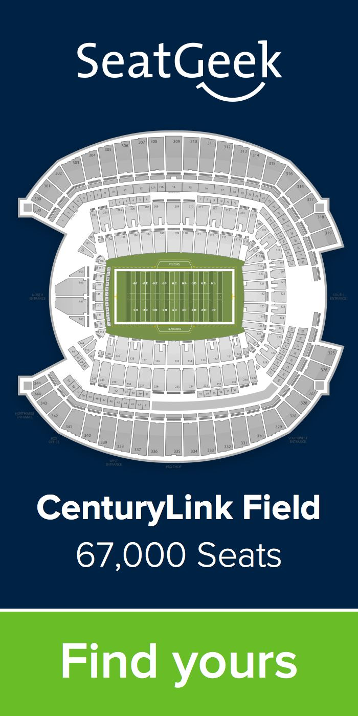The best deals for Seahawks tickets are on SeatGeek!
