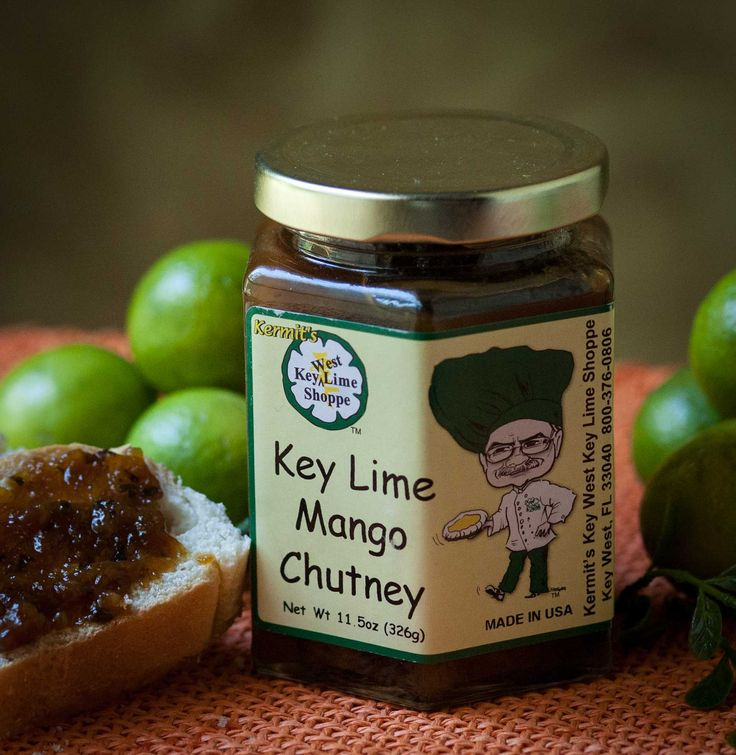 Kermit's Key Lime Mango Chutney | Kermit's Products | Pinterest