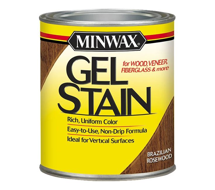 Staining directions Minwax® Gel Stain