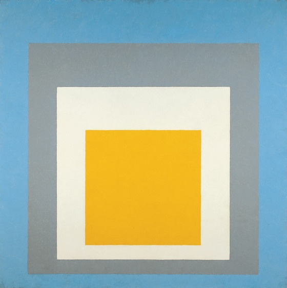 Josef Albers - Homage to the Square: Ascending, 1953
