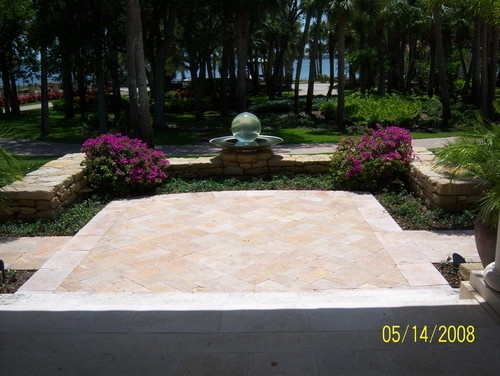15 best Travertine patios images on Pinterest | Travertine ... on Travertine Patio Ideas id=13335