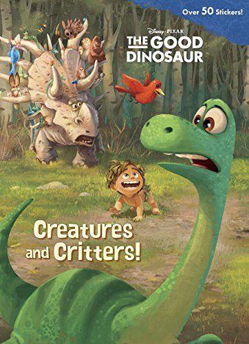 Creatures and Critters! (Disney/Pixar The Good Dinosaur) (Jumbo Coloring Book) $2.99