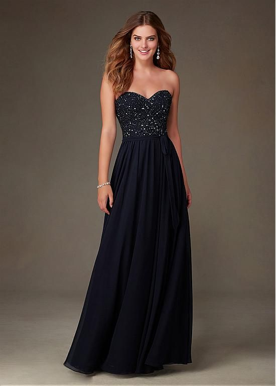 Buy discount Fabulous Chiffon Sweetheart Neckline Natural Waistline Floor-length A-line Bridesmaid Dresses at Dressilyme.com