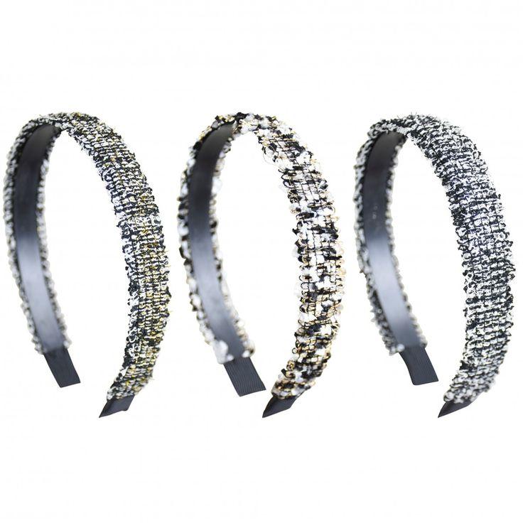 Woven Lurex 1 Inch Headband