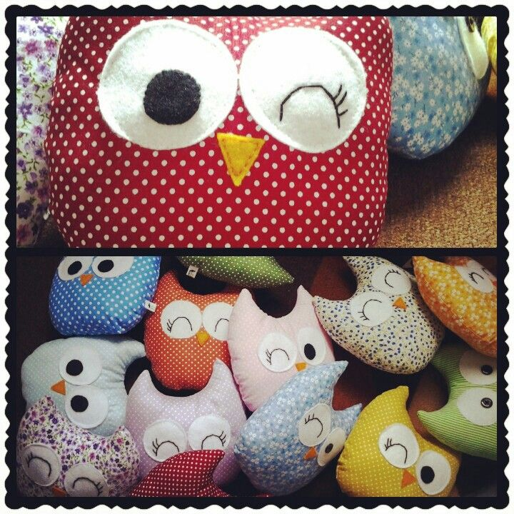 Owl plushie for souvenir in my baby first birthday